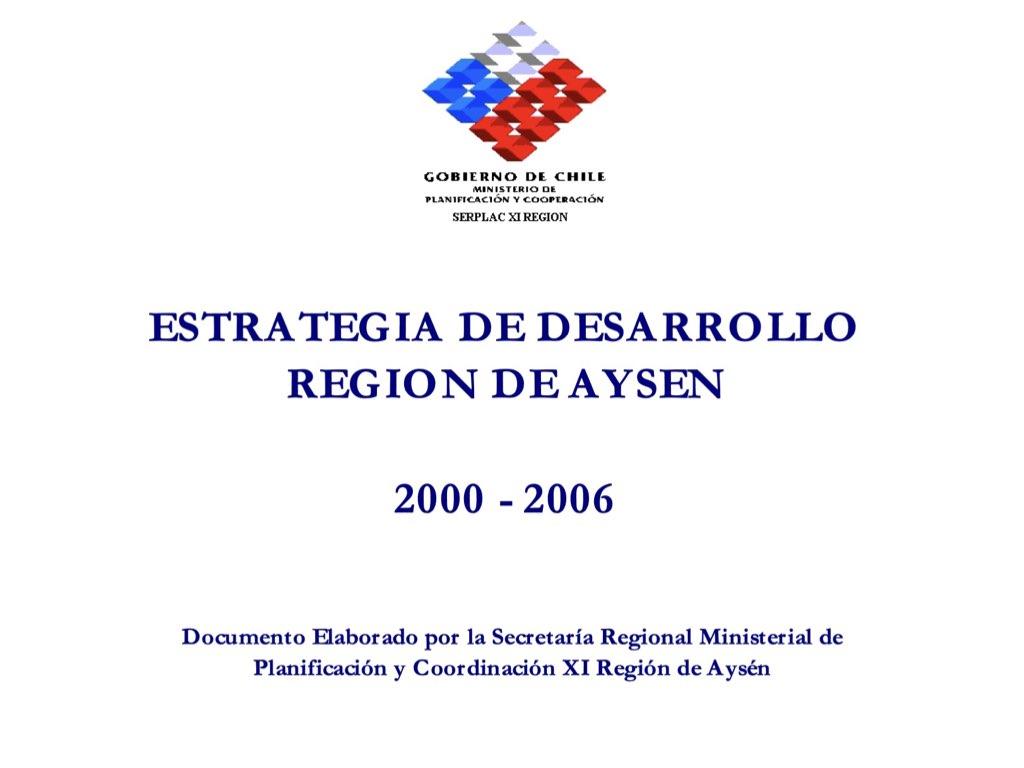 análisis crítico de la Estrategia de Desarrollo Regional.001